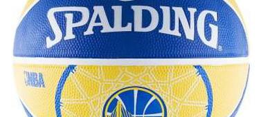 Баскетбольный мяч Spalding Golden State