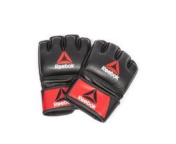 RSCB-10310RDBK Профессиональные кожаные перчатки Reebok Combat для MMA