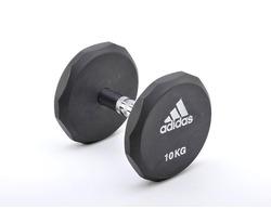 Гантель обрезиненная Adidas 20 кг Арт.ADWT-10324