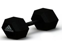 Гантель гексагональная Adidas, 15 кг Арт.ADWT-10345