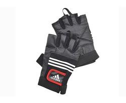 Перчатки тяжелоатлетические (кожа) Артикул:  ADGB-12124 – размер S/M