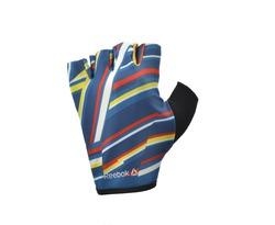 Женские перчатки для фитнеса Reebok (без пальцев, цветные) арт. RAGB-12331ST